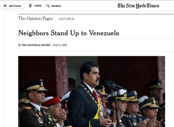 Injerencia New York Times